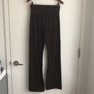 NWOT American Apparel brown cotton yoga pants